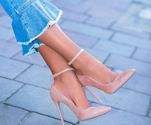 high heels and shoes image