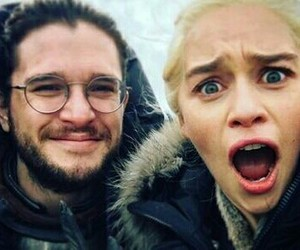 couple, funny, and jon snow image