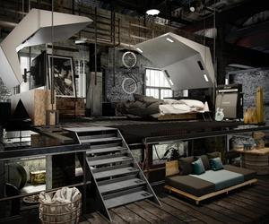 design, industrial, and loft image