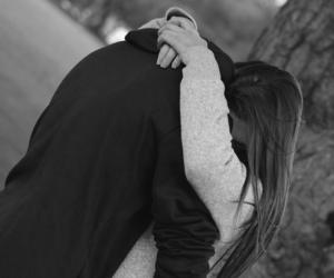 adorable, couple, and hug image