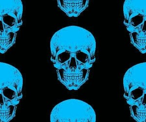 background, skulls, and wallpaper image