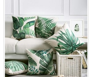 green, home, and pillows image