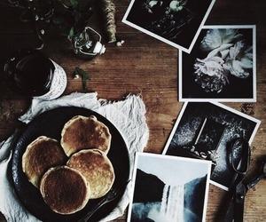 brown, food, and pancakes image