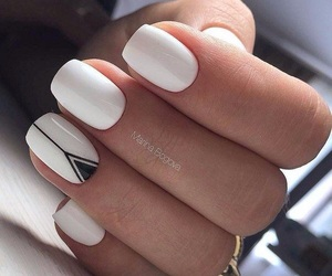 style, fashion, and nail art image