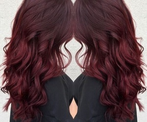 hairs, hairstyle, and red image