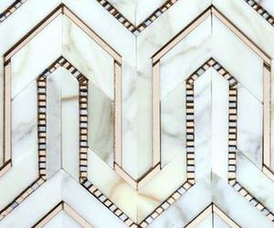 pattern, geometric, and gold image