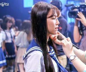girl, korean, and mnet image
