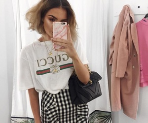 fashion, gucci, and outfit image