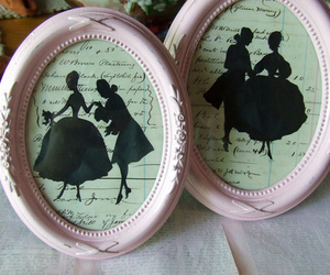 cameo, vintage, and couple image