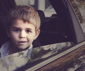 boy and car image
