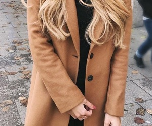 autumn, blonde, and brown image
