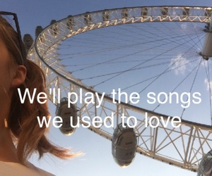 london eye, Lyrics, and songs image
