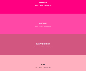 colour and pink image