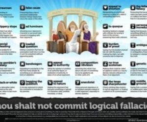 logic, interesting facts, and fallacies image