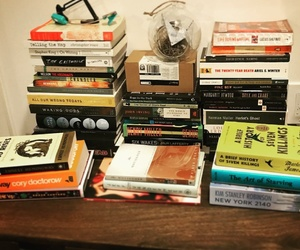 books, reading, and library image