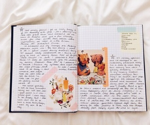 journal, writing, and aesthetic image
