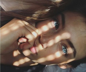 beauty, blue eyes, and goals image
