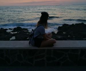 me, photograph, and sea image