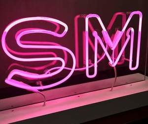 light, pink, and SM image