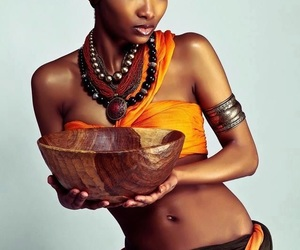 africa, bowl, and clothing image