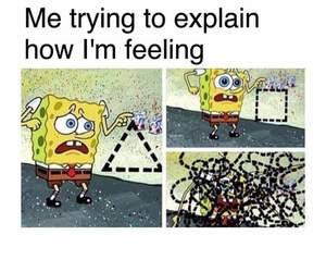 confused, feelings, and trying image