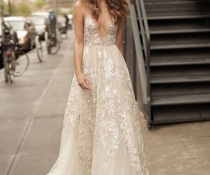 bridal, fashion, and wedding image