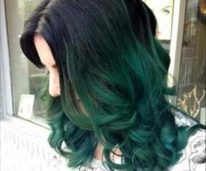 siyah, yeşil, and saclar image