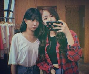 eunha, gfriend, and sinb image