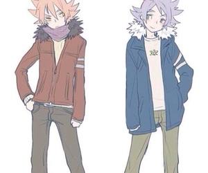 inazuma eleven, shirou fubuki, and atsuya fubuki image