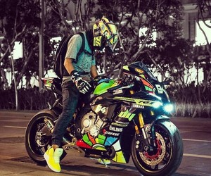 motorbike and motorcycling image