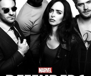 daredevil, Marvel, and defenders image