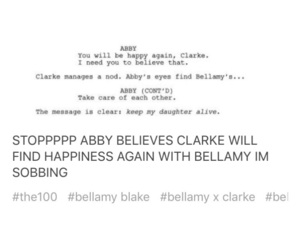 bellamy, post, and tumblr image