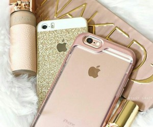 aesthetic, rose gold, and gold image