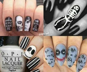 jack, nails, and nightmare before christmas image