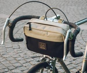 bicycle, bike bag, and bicycle bag image