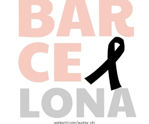 Barcelona, peace, and pray image