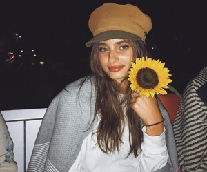 taylor hill, model, and flowers image