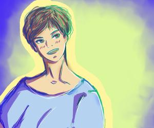 boy, colorido, and dibujos image