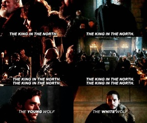 young wolf, winter is coming, and arya stark image