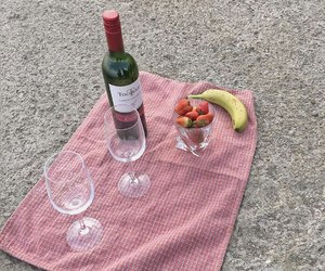 banana, romance, and strawberry image