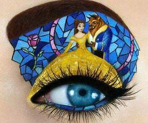 beauty and the beast, makeup, and disney image