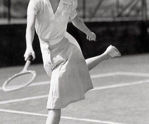 Pin Up, vintage, and tennis image