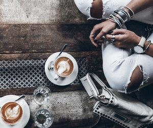 blogger, boho, and cappuccino image