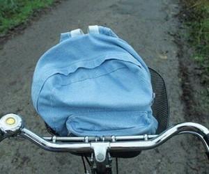 bike, tumblr, and blue image