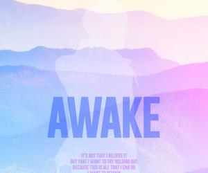 jin, bts, and awake image