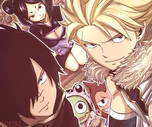 fairy tail, rogue cheney, and minerva orland image