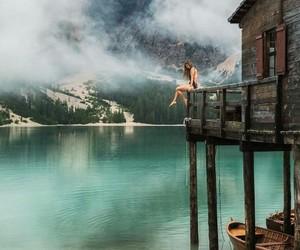 adventure, lake, and lago di braies image