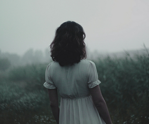 girl, nature, and pale image