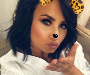 demi lovato and snapchat image