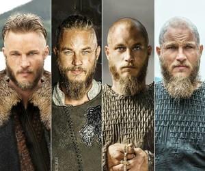 vikings, ragnar lodbrok, and ragnar lothbrock image